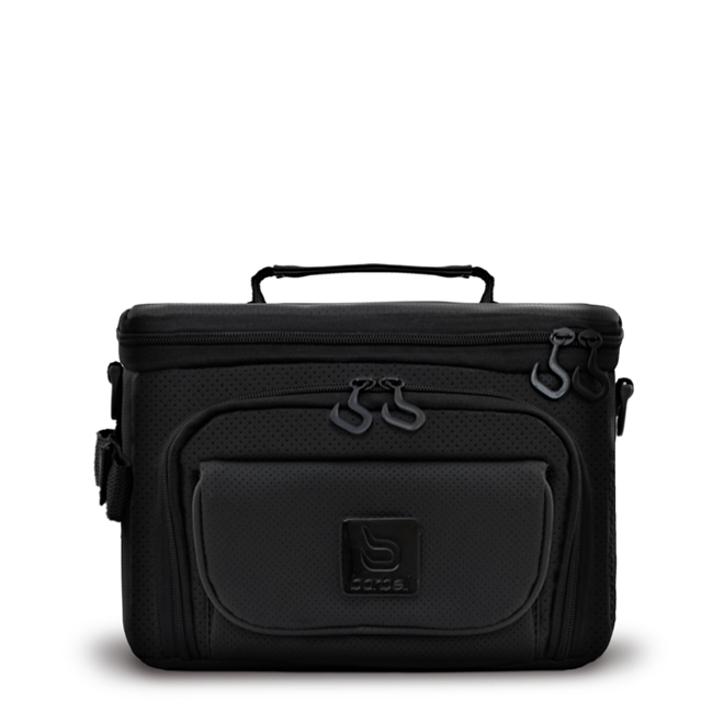 Bolsa Térmica Barbell Box Expert Charm Média Preta