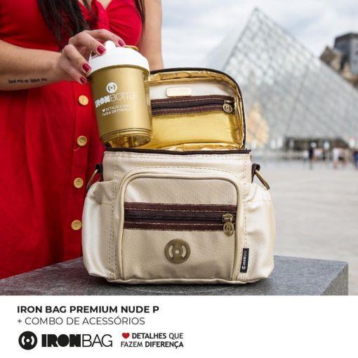 Bolsa Térmica Iron Bag Premium Nude P - BodyBuilding Store